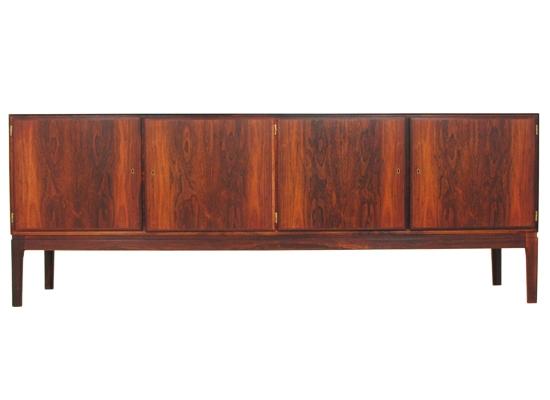 long rosewood sideboard