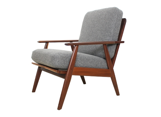 poul volther teak lounge chair