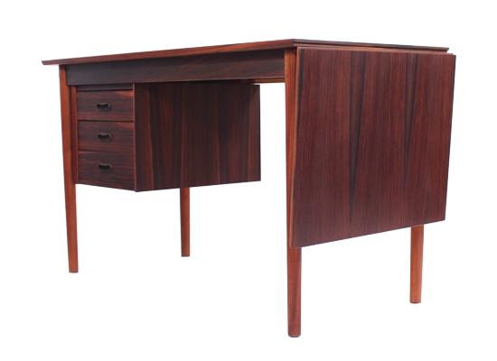 rosewood extending 1950s desk