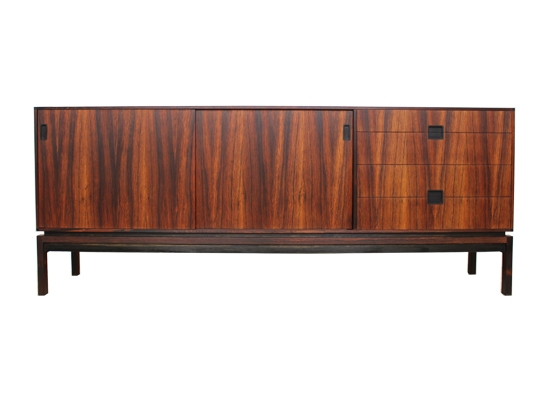 rosewood and ebony sven ellekaer sideboard