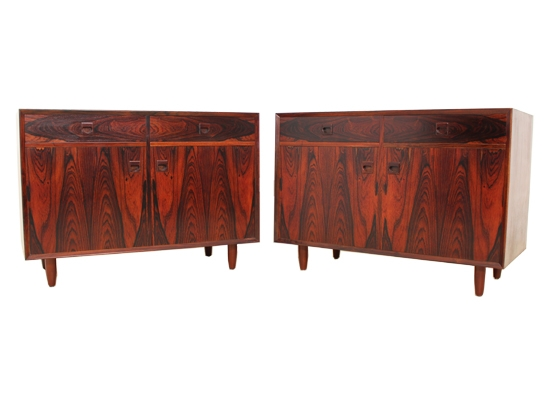 brouer rosewood cabinets