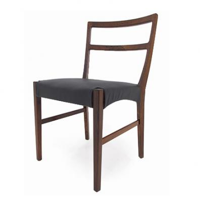 10 ROSEWOOD DINING CHAIRS 1.