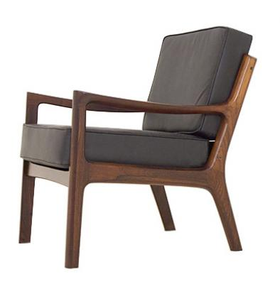 A pair of rosewood easy chairs Model 166