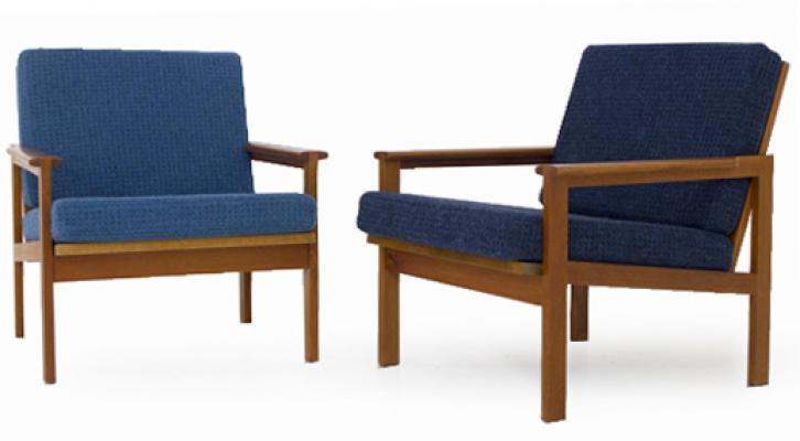 One Teak Danish Chairs model Nr 4