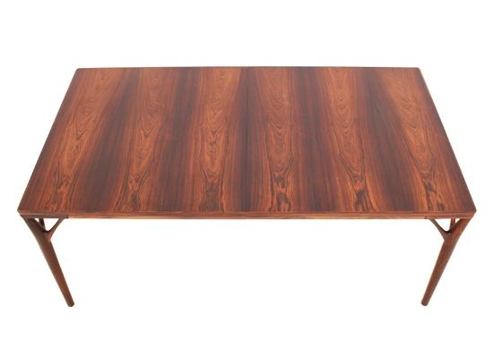 helge vestergaard jensen rosewood dining table