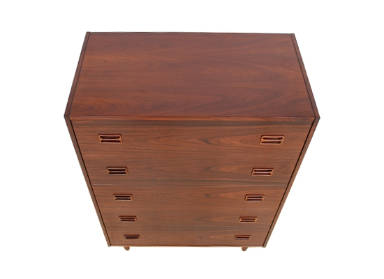 large danish rosewood chest..