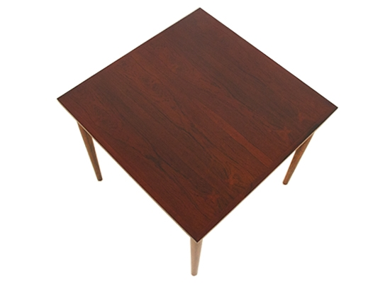 rosewood square extending dining table