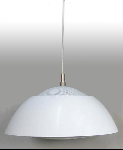 Large White Pendant Ceiling Light