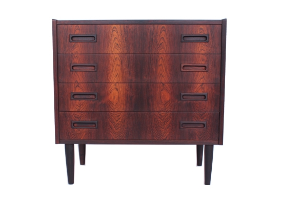 danish rosewood chest cabinet