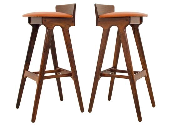 erik buck rosewood bar stools
