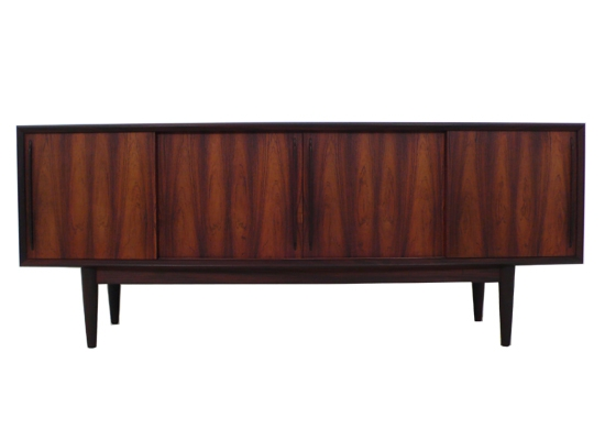 rosewood bow fronted danish sideboard