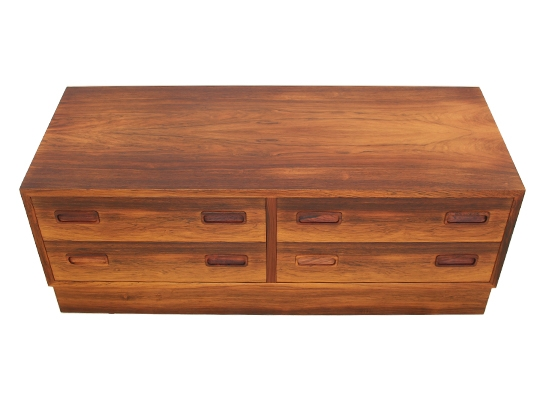 danish rosewood low TV cabinet