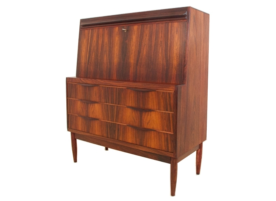 erling torvits danish rosewood bureau
