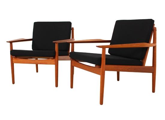 Arne Vodder Teak Lounge Chairs