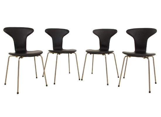 arne jacobsen rosewood mosquito chairs