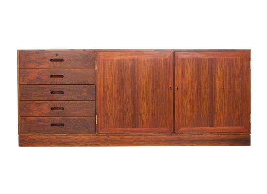 kai winding rosewood cabinet