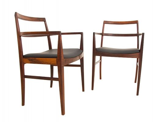 6 Arne Vodder Dining Chairs model 430/430A