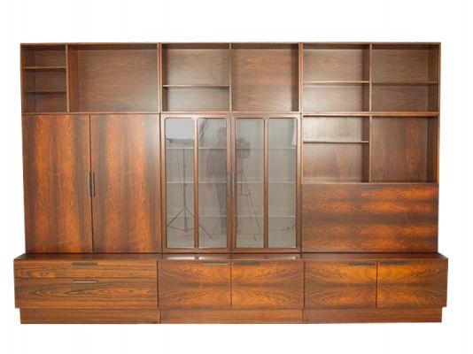 Large Rosewood Wall Unit Model FA 657