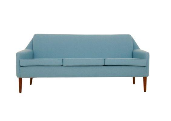 1950s Peter Hvidt 3 Seat Sofa