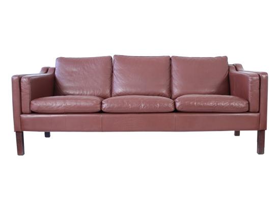 Danish 3 seat classic mid century sofa