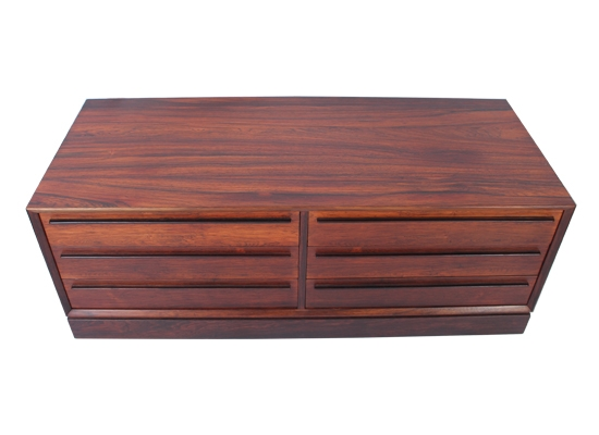 low rosewood tv cabinet sideboard