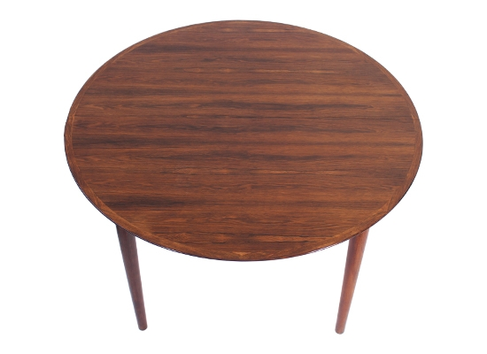 sibast rosewood extending dining table