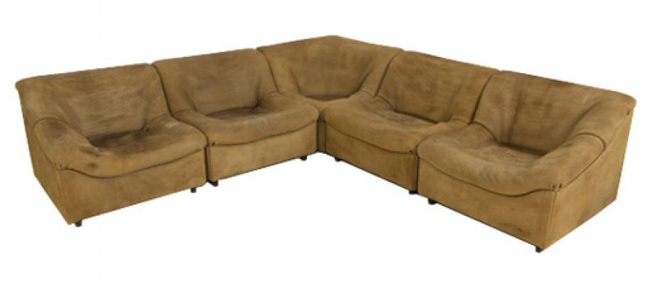 Large Corner Sofa and Matching Coffee Table Model 46