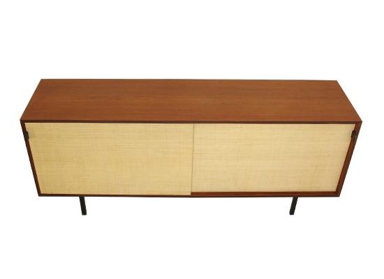 florence knoll teak sideboard model 116