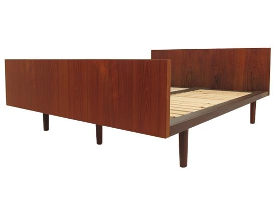 hans wegner teak double bed.