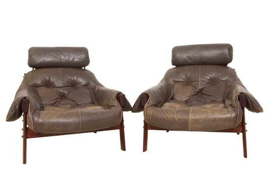 one percival lafer lounge chair