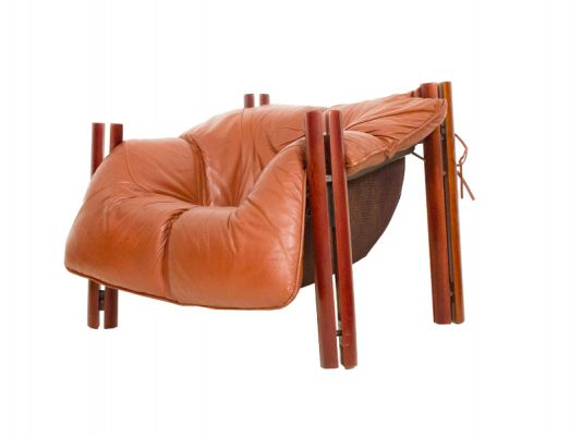 A Pair Of  Percival Lafer Lounge Chairs….