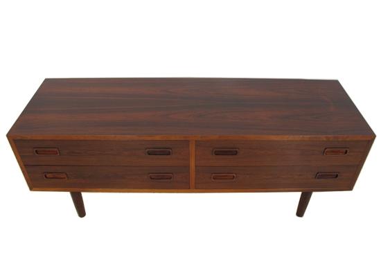 low jensen rosewood cabinet