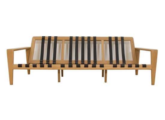 svante skogh soaped oak 3 seat sofa