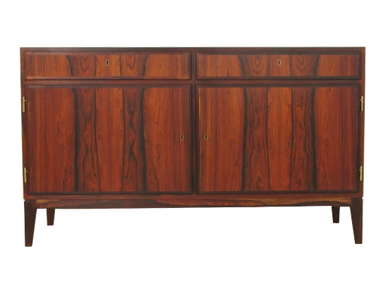 a danish rosewood cabinet