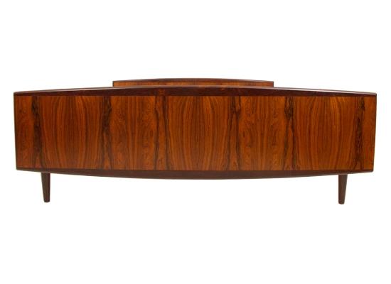 danish rosewood double bed….7