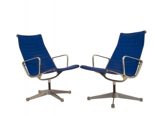 Aluminium Group Lounge Chair EA116