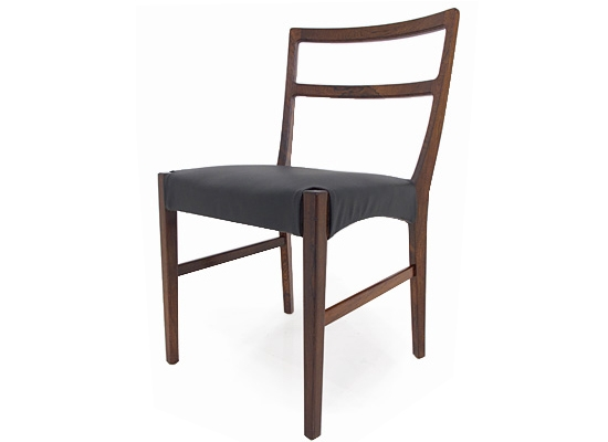 12 rosewood dining chairs model 160