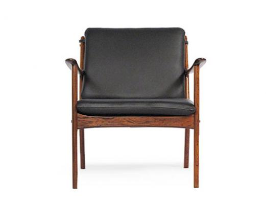 Ole Wanscher Rosewood Easy Chairs