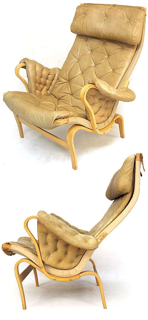 Leather Pernilla Arm Chair