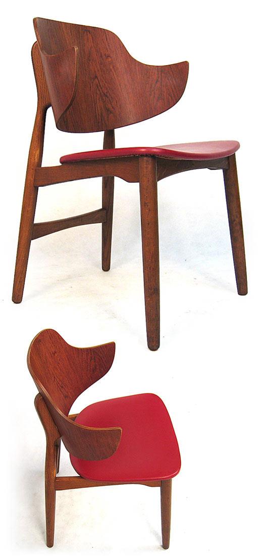 Teak Desk - Easy Chair