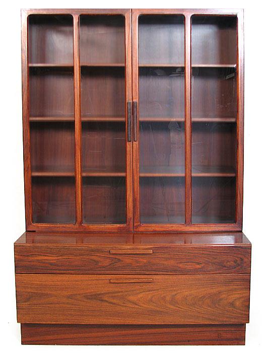 Ib Kofod Rosewood - Glass Cabinet