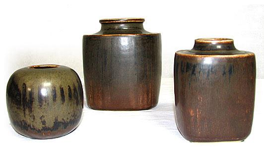 Valdermar Petersen Porcelain Vases