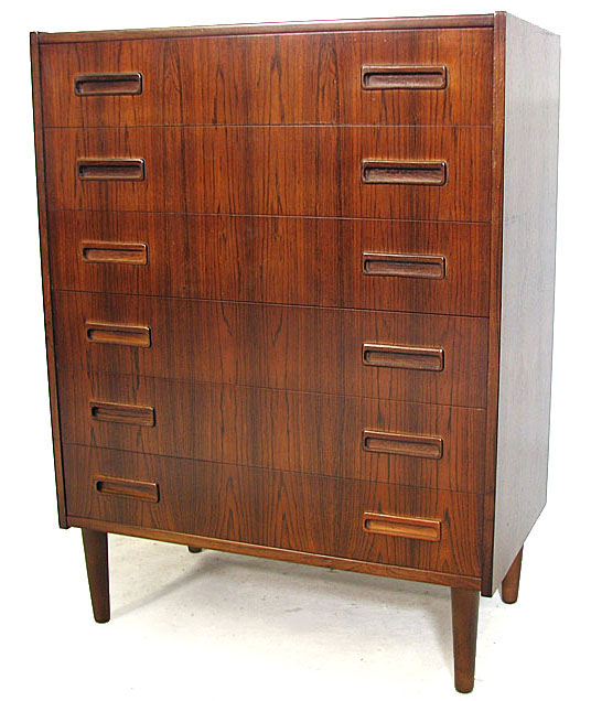 Rosewood Chest Of Drawers.2