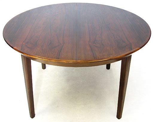 Brazilain Rosewood Extendable Table