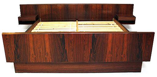 Kingsize Brazilian Rosewood Bed