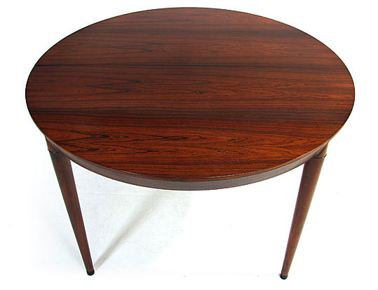 Haslev Rosewood Extendable Dining Table