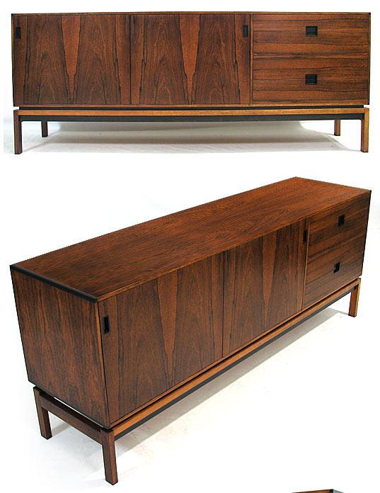 Low Brazilian Rosewood Sideboard