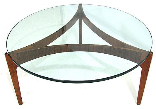 Ellekaer Three Legged Rosewood Table