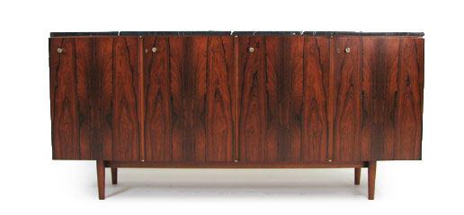 Robin Day Rosewood - Marble Albemarle Sideboard