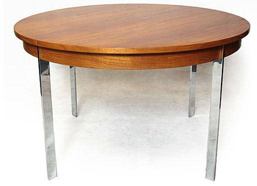 Merrow Teak - Chrome Dining Table
